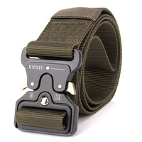 Special Forces Tactical Belts Hunter SWAT Duty Nylon Belts Mens Army Military Combat Emergency Survival Waistband