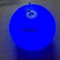 led floating ball decoration in garden play beach ball for kids advertising lighting Throwing Zygote Balls for show party