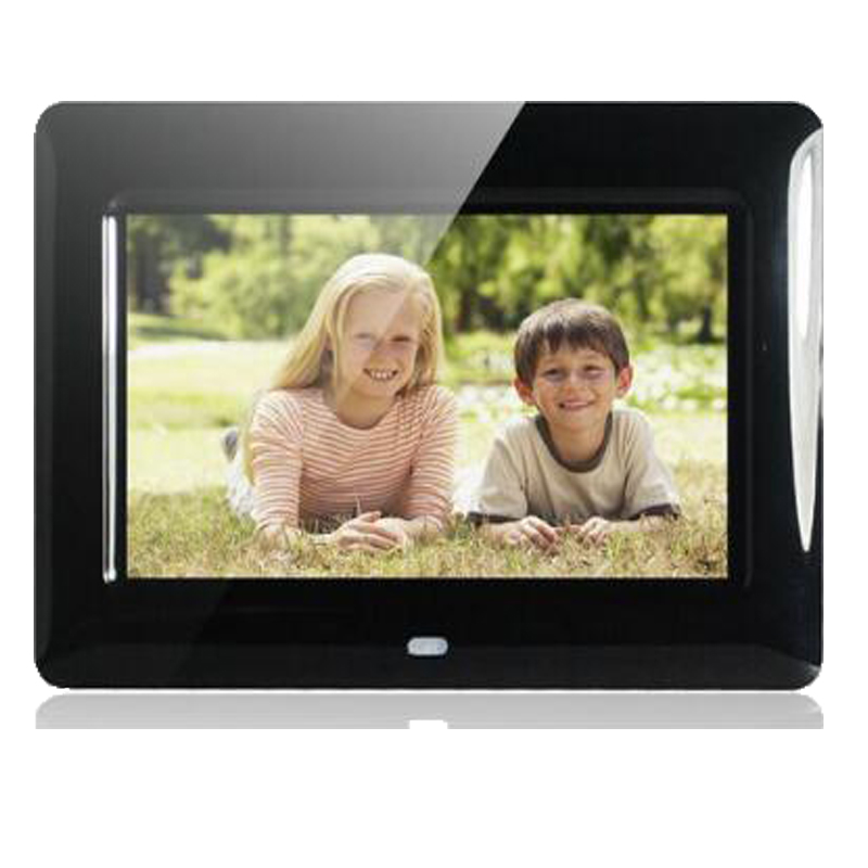 7 HD TFT-LCD Digital Photo Frame with Slideshow Alarm Clock MP3 MP4 Movie Player with Remote Desktop7 HD TFT-LCD Digital Photo Frame with Slideshow Alarm Clock MP3 MP4 Movie Player with Remote Desktop