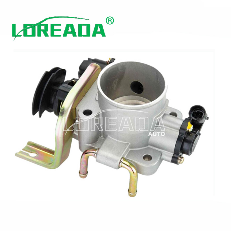 LOREADA Throttle body for JINBEI Grace/Haver 4G63/4G64/GM 01118 Mitsubishi engine Delphi ...