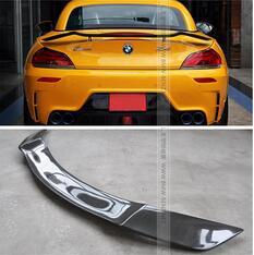 Высокое качество Универсальный Роуэн Стиль углеродного волокна Z4 E89 задний спойлер для BMW Z4 Audi TT заднее крыло