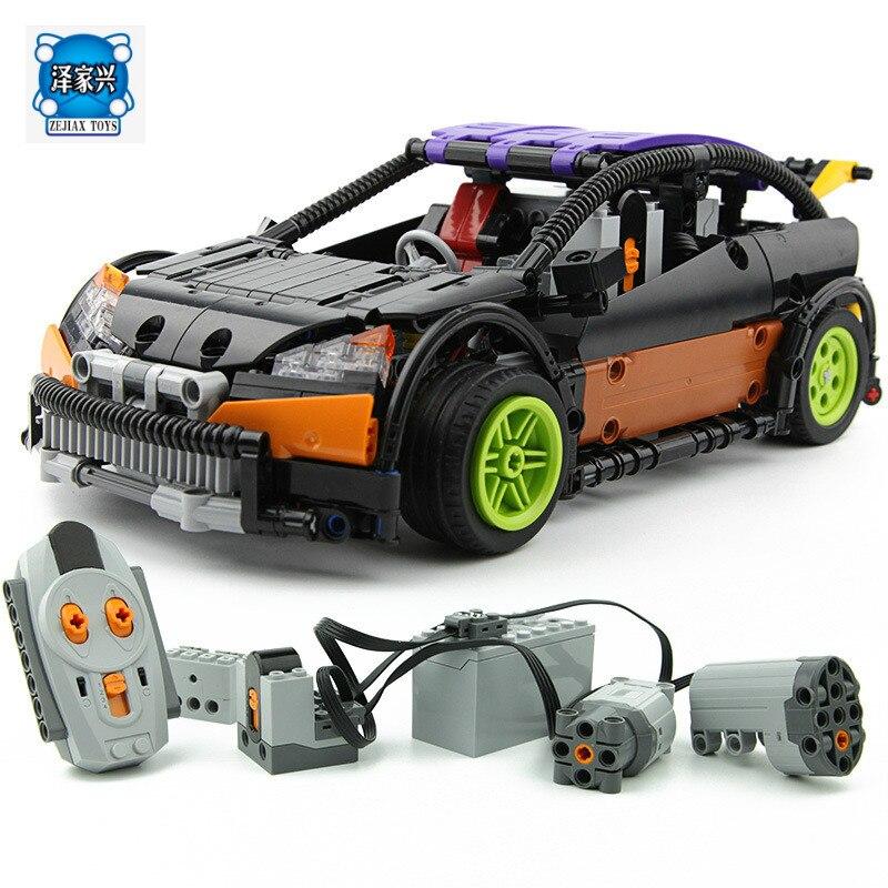 The Hatchback Type RC Car 640 Pcs Mini Bricks Set Sale Technic Series Building Blocks Toys for Children Compatible Lepins original feeding motor 6701409040 for roland re 640 ra 640 vs 640