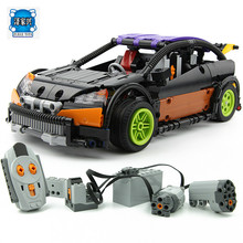 The Hatchback Type RC Car 640 Pcs Mini Bricks Set Sale Technic Series Building Blocks Toys for Children Compatible Lepins