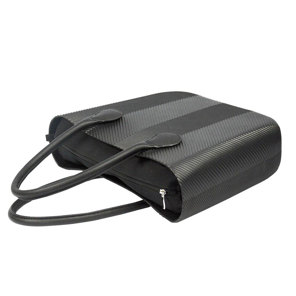 de eva com bolso interno alças coloridas