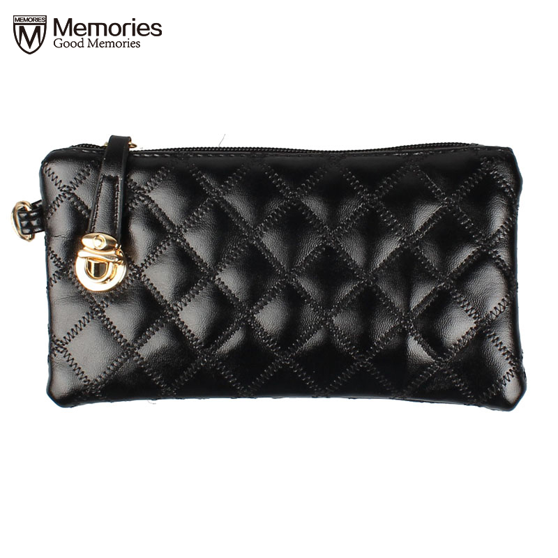 Woman Purse Handbag Long Party Ladies Soft Leather Clutch Wallets Zipper Clutch famous brand Casual Purses with Strap for Girl
