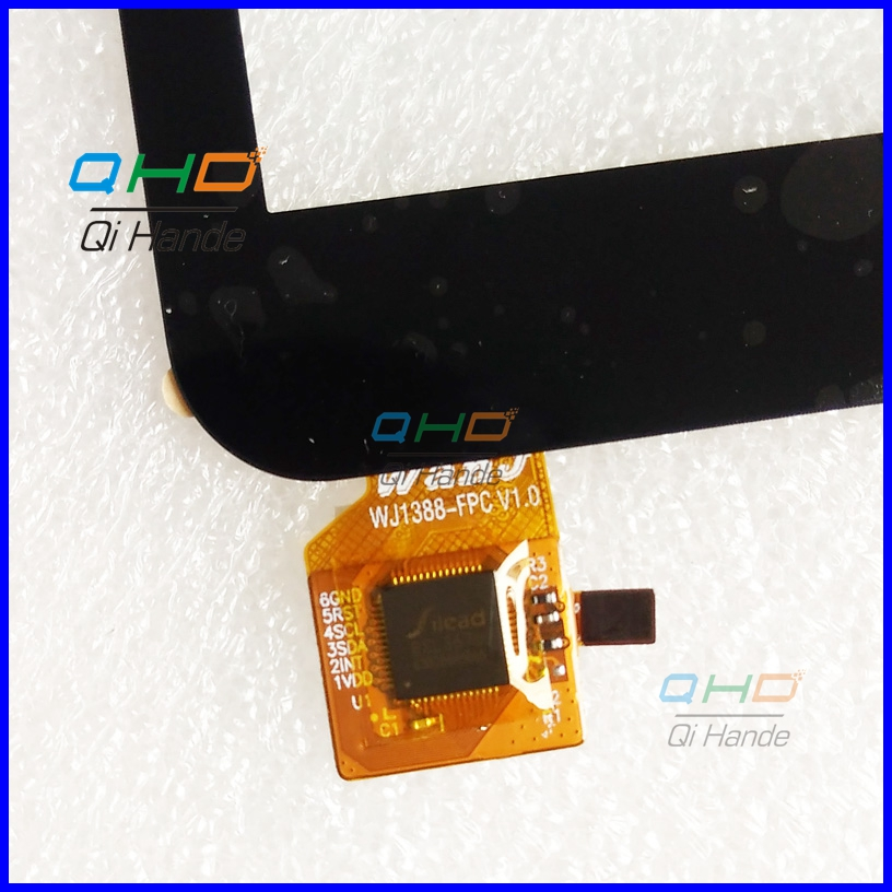 Free shipping WJ1388-FPC V1.0 10.1'' inch Touch screen touch Panel Digitizer Sensor replacement for MID free shipping fpc 760a0 v01 touch screen