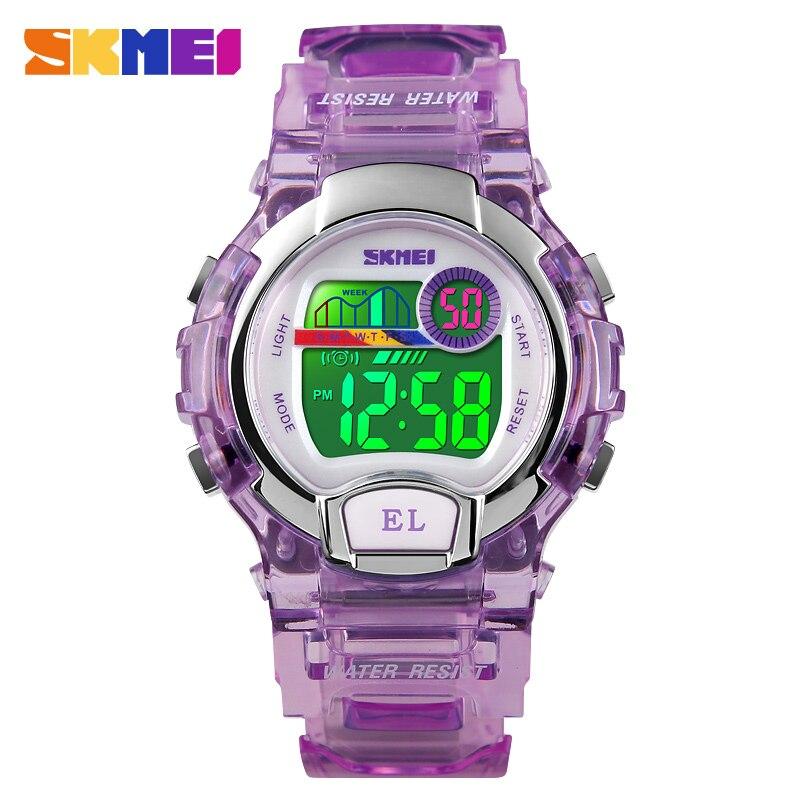 SKMEI moda mujeres reloj Digital deporte al aire libre reloj femenino Top Nuevo 2018 cronómetro Chrono señoras reloj mujer
