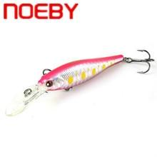 NOEBY Suspending Minnow Fishing Lure 70mm 7.8g Plastic Hard Bait Isca Artificial Peche Leurre Jerkbait Swimbait Bass Pike Lure недорого