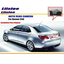 Car Rear View Camera / Back Up Reverse Parking Camera For ROEWE 550 2007~2012 License Plate Lamp / HD CCD Night Vision