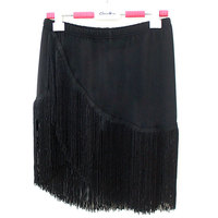 The New Dance Latin Dance Skirt With Tassel Boxer Safety Trousers Miniskirt Women S Clothes And