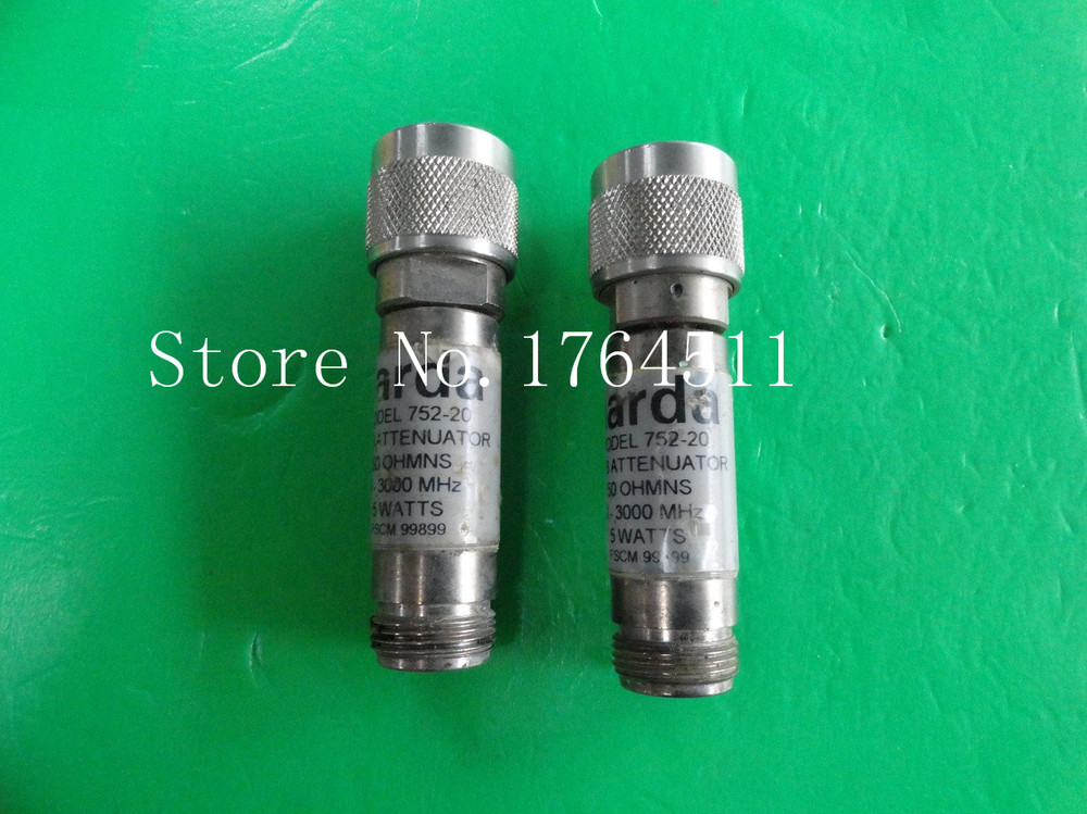 [BELLA] NARDA 752-20 DC-3GHz 20dB 5W N Coaxial Fixed Attenuator