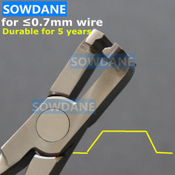 Fio ortodôntico dental passo formando alicate dentista laboratório instrumento ferramenta dobra do fio alicate de aço inoxidável