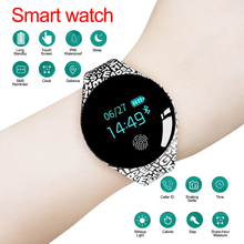 Smart Watch Pedometer Fitness Tracker Wearable Device Motion Detection Fashion Round Dial With Cartoon Letter Gift For Kids