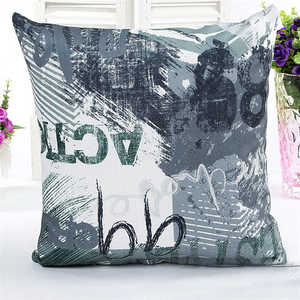 Image 2 - Novel Printed Pattern Pillowcases Cover Super fabric Home Bed Decorative Throw Bedding Pillow Case