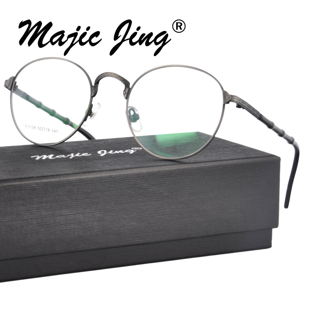 Brýle na dioptrické brýle Magic Jing na dioptrické brýle RX s optickým rámečkem na brýle s úplným lemem, brýle F3109