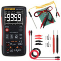 ANENG Q1 True-RMS цифровой мультиметр Кнопка 9999 отсчетов с аналоговым гистограммой AC/DC Напряжение Амперметр Ток Ом Авто/руководство