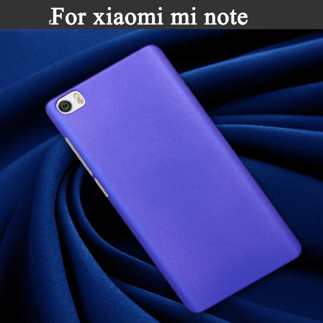 Painted Slim Frosted Matte Rubber Matte Hard PC Plastic Case For Xiaomi M4i x9 xiaomi note Back Skin Cover for Xiaomi case t005