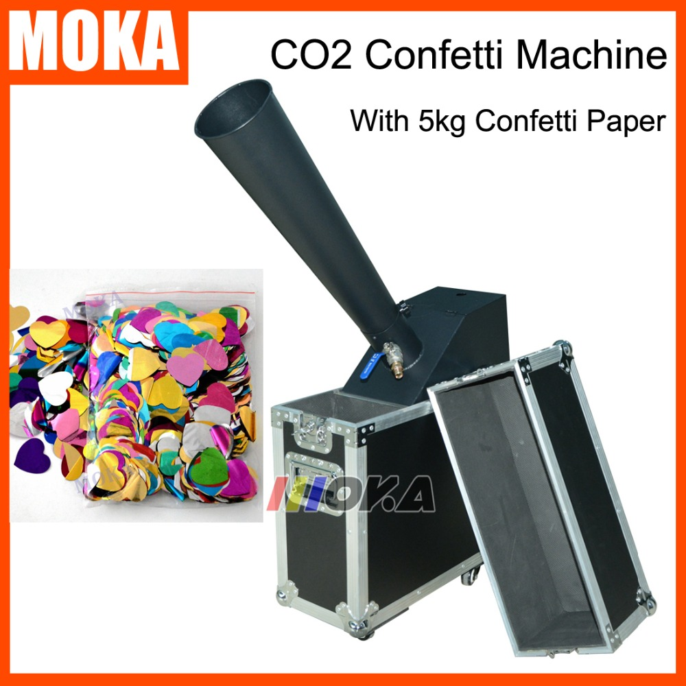 CO2 Confetti Blaster with 5kg confetti paper Confetti Launcher Mini Co2 Confetti Machine co2 jet machine For Party CelebrationCO2 Confetti Blaster with 5kg confetti paper Confetti Launcher Mini Co2 Confetti Machine co2 jet machine For Party Celebration