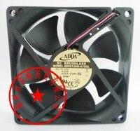 ADDA 9 CM AD0912HB-A70GL AD0912HB-C76 AD0912HB-A76GL 9225 12 V 0.25A 2 92*92*25 ventilador DE Refrigeração do FIO mm