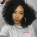 6А Девственница Перуанский Волосы Курчавые Вьющиеся Кружева Перед Парики Человеческих Волос полный Шнурок Парики Человеческих Волос Кудрявый Вьющиеся Парики Afro Kinky Вьющиеся парик