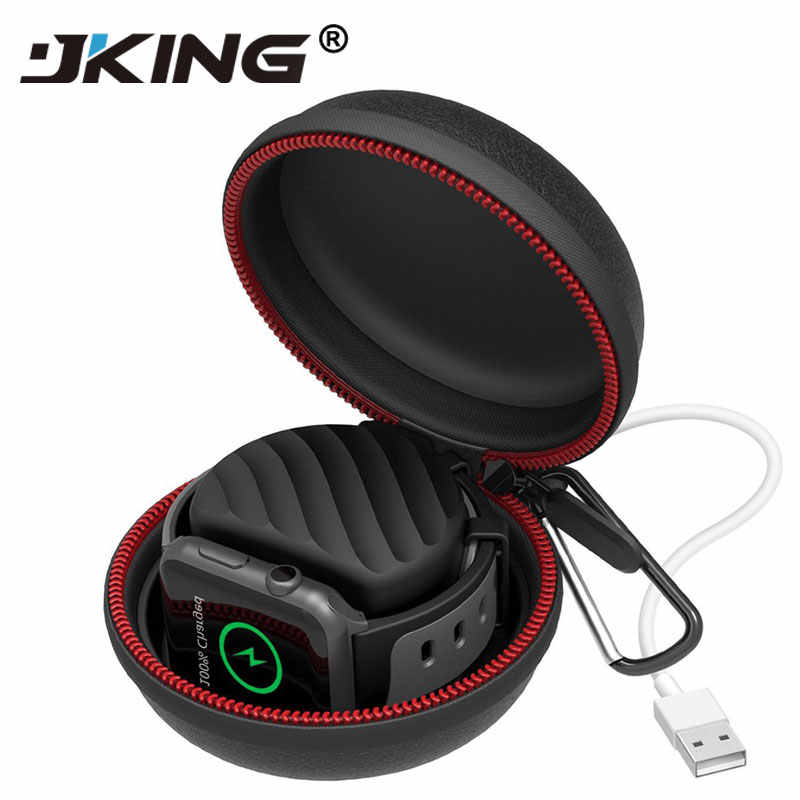 New Portable Charger Charging Holder Dock Case Travel Hard Protective Bag Pouch Case For Apple Watch Series 1/2/3