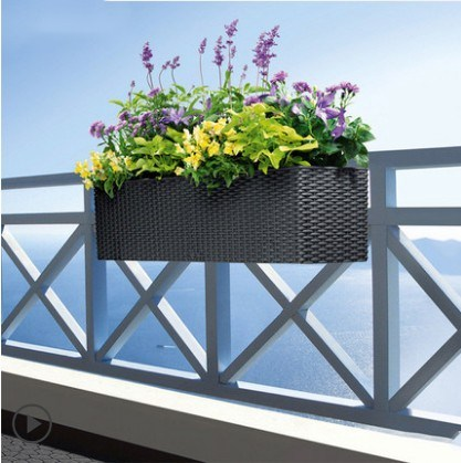 2 Pcs Iron Art Balcony Pot Rack Hook Up Railing Hanging Shelf Adjule Outdoor Flower Bracket In Plant Cages Supports From Home Garden On