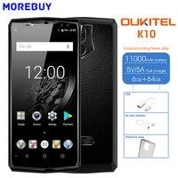 Oukitel K10 6GB RAM 64GB ROM Android 7 1 Octa Core Smartphone 6 0 18 9