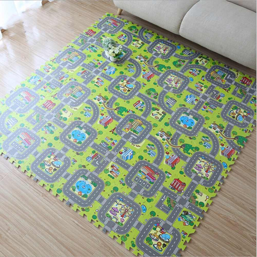 Kids Rugs Baby Play Puzzle Mats