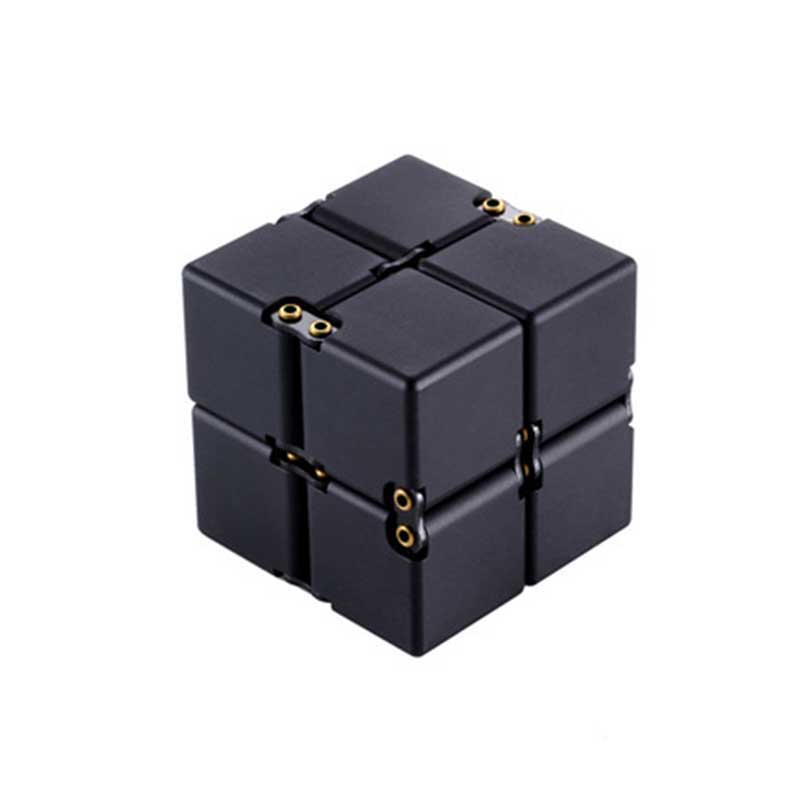 New Creative Infinite Cube Decompression Fidget Toy Infinity Turn Spin Cube Anti-stress Resistance Anxiety Stress Reduce Toy TY