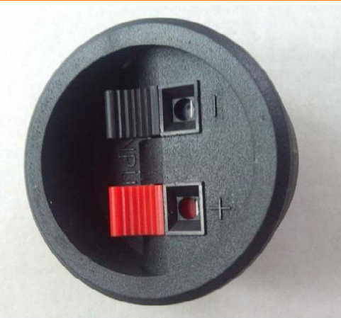 wholesale 500pcs 2pin push red and black spring push type speaker cable wire loudspeaker audio. Black Bedroom Furniture Sets. Home Design Ideas