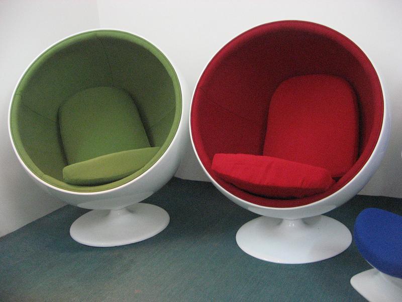 Fashion Fiberglass Insulation Space Egg Chair Ball Recliner Sofa