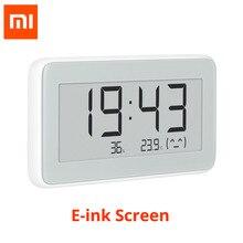 شاومي Mijia اللاسلكية الذكية الكهربائية ساعة رقمية داخلي الرطوبة ميزان الحرارة E الحبر شاشة قياس درجة الحرارة أدوات