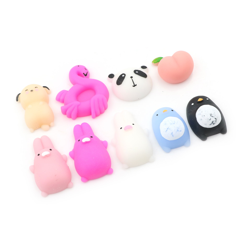 Gags & Practical Jokes 1pcs Funny Gift Cute Animal Squishy Antistress Ball Squeeze Mochi Rising Toy Abreact Soft Sticky Squishi Stress Relief Toys