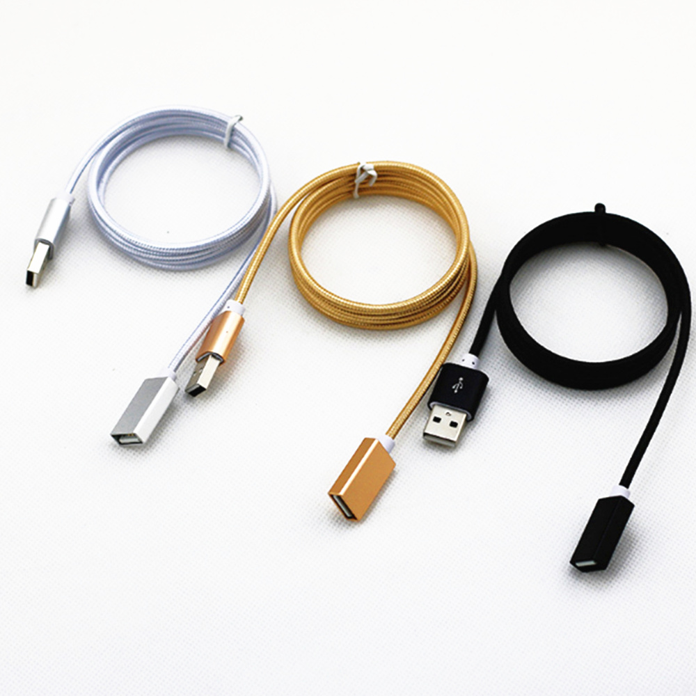 USB Extension Cable USB 2.0 Cable for Smart TV for PS4 Xbox One SSD USB3.0 2.0 to Extender Data Cord Mini USB Extension Cable image