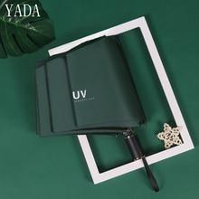 YADA Ultra Light Mini Folding Umbrella For Women Men Rain & Sun uv High Quality Brand Windproof Umbrellas Outdoor YS359