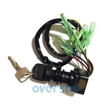 703 82510 43 MAIN SWITCH ASSY For Yamaha Outboard Remote Control Box Push to Choke75HP 85HP