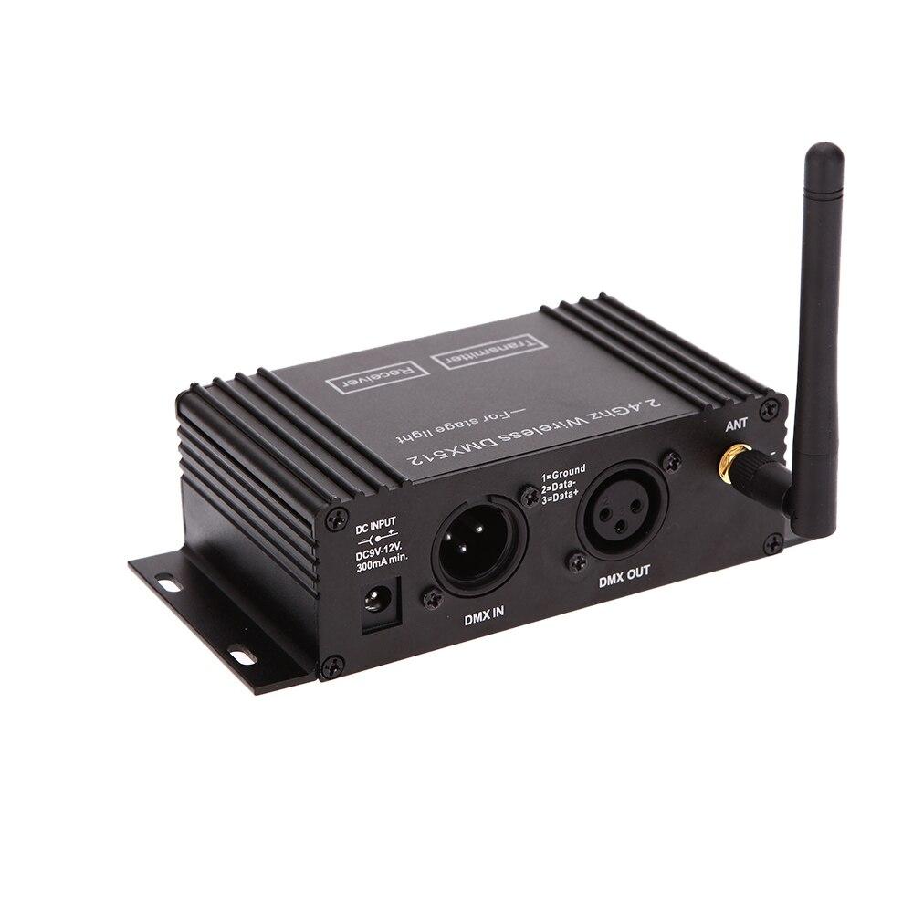 400 м эффективный диапазон Dmx512 Беспроводной приемник передатчик DMX512 светодио дный освещения передатчик и приемник 2in1 повторителя