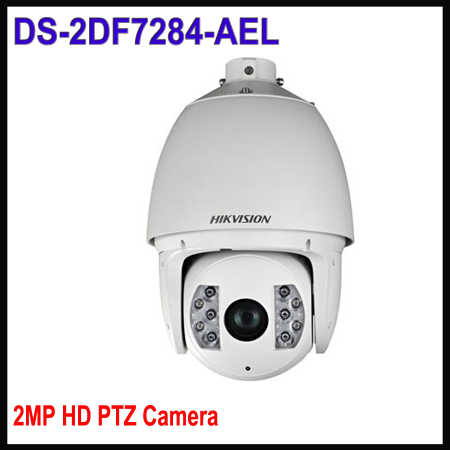 Hikvision PTZ Camera IP 2MP POE ONVIF DS-2DF7284-AEL 2MP Ultra-low Temperature IR Network Speed Dome Camera hikvision ds 2df8223i ael english version 2mp ultra low light smart ptz camera ultra low illumination dark fighter