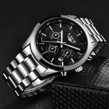LIGE Business Quartz Watch LIGE9875