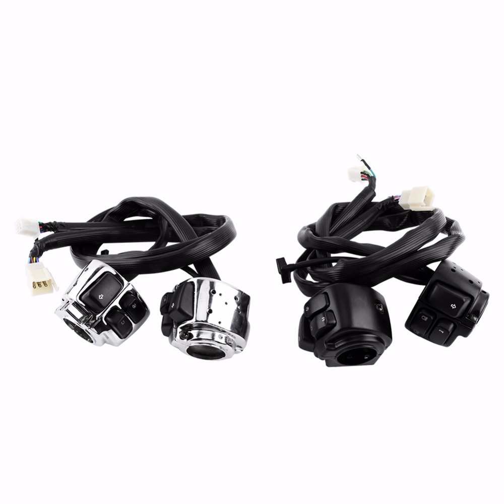 Big Dog Wiring Harness Motorcycle Handlebar Switches Car Styling New 2x 25mm 1quot Control