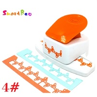Large Knot Embossing Machines Puncher Scrapbooking Perfect for Creating Gift Tags ; Craft Height about: 4cm/ 1.57inch