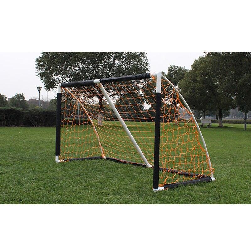 Gojoy pliant filet de football but porte 7 joueurs adulte fil en plastique cadre porte portable équipement de formation en gros