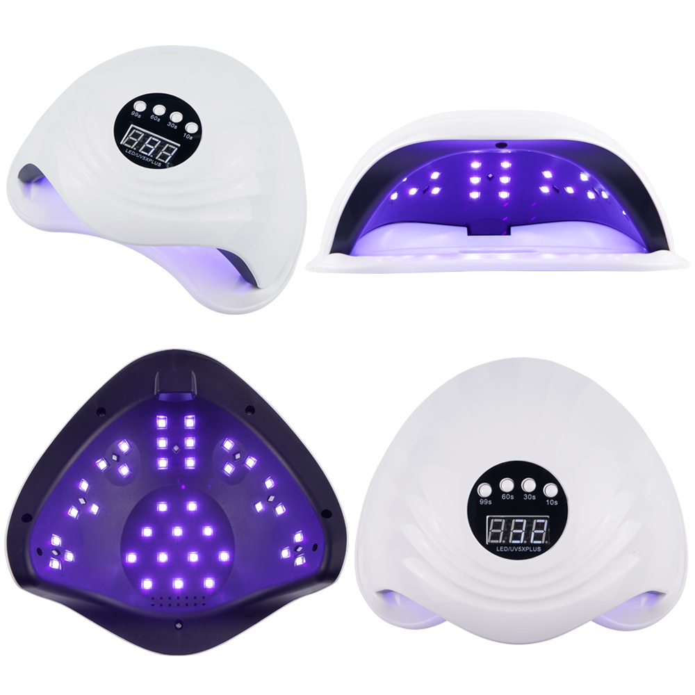 Image 4 - 108W SUN5X Plus UV Lamp for Nails LED Nail dryer 10/30/60S Botton Timer Fast Curing UV Gel Polish Auto Sensing Nail Lamp-in Nail Dryers from Beauty & Health
