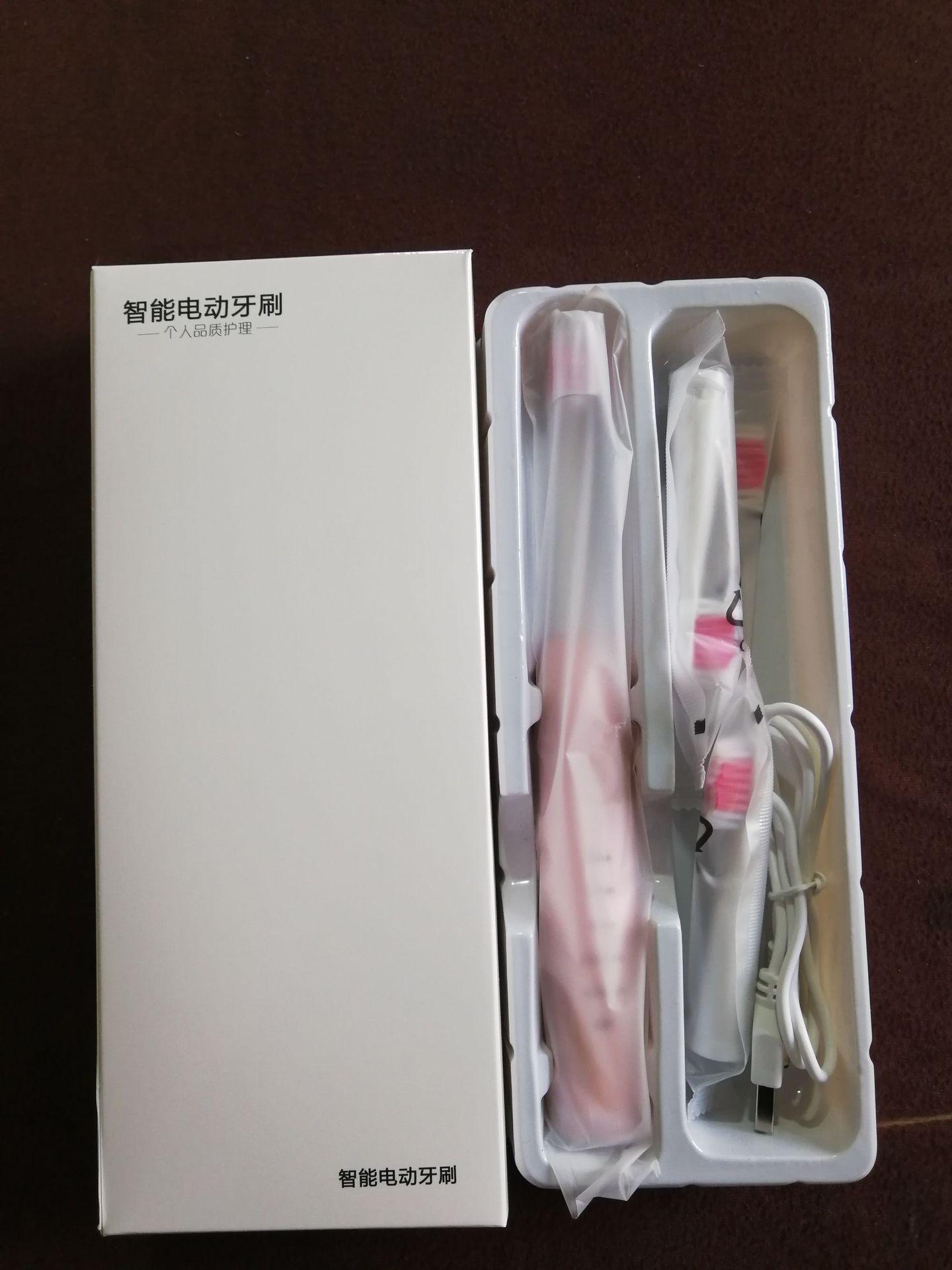 de dentes Sónica Recarregável USB Atualizado 4 pele macia escovas