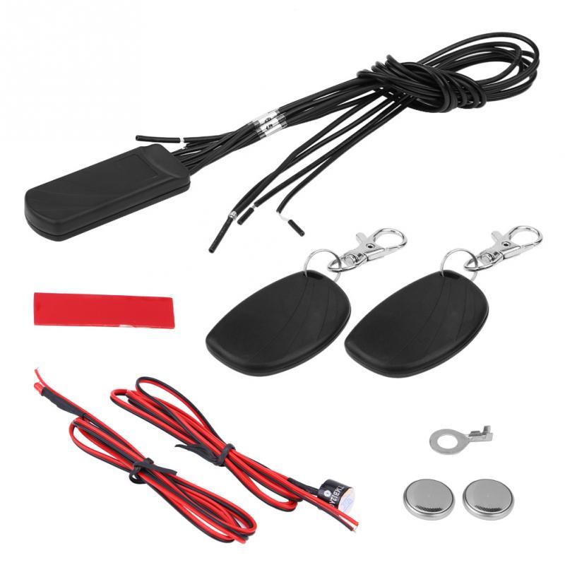 Car Alarm Security Steal Safety Lock Burglar Alarm Siren 2.4G RFID G-sensor Security Alert kit Auto Electronic Accessories