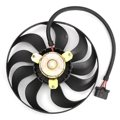 Oil Water Cooler Electric Radiator Cooling Fan For Audi/TT/VW/Beetle/Golf/Jetta/ Passenger Side Right RH