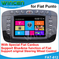 Car DVD GPS Player for Fiat Punto With GPS DVD IPOD BT RDS Radio USB SD function Free Card With Map