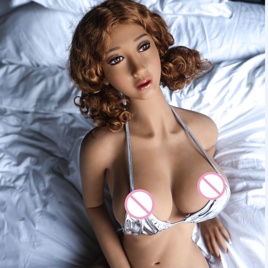 Pinklover 165cm Tan skeleton adult love vagina lifelike pussy real silicone TPE sex doll for men big breast olympia le tan джинсовые брюки