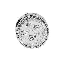 2017 новые белоснежные Бусины Fit Pandora браслет Оригинал 100% стерлингового серебра 925 шармы брелоки Kralen BonCuk DIY Изготовление B1540