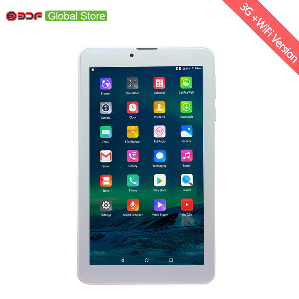65311b242 1 Pcs 7 Inch 3G Phone Call 8 GB Tablet Pc Bluetooth Sim Card Leather cover